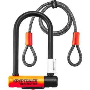 Antivol U Kryptonite Evolution Mini-7 U-Lock + Câble KryptoFlex