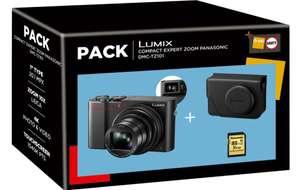 Pack Appareil photo Panasonic Lumix DMC-TZ101 + Housse + Carte SD 16 Go