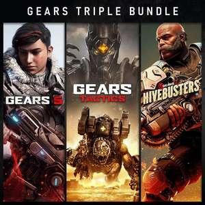 Bundle Gears Triple sur PC & Xbox (Dématérialisé - Store ISL)