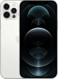 """Smartphone 6.1"""" Apple iPhone 12 Pro - full HD+ Retina, A14, 6 Go de RAM, 256 Go, argent (+ 32.58€ en Rakuten Points)"""
