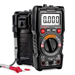 Multimètre numérique Kaiweets - TRMS 4000 Points (Vendeur Tiers)