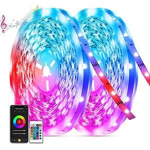 Ruban LED Tasmor RGB - 20 m, 600 LEDs, avec télécommande (vendeur tiers)