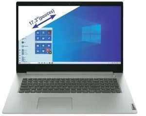 "PC portable 17"" Lenovo Ideapad 3 17IML05 - HD+, i3-10110U, 8 Go RAM, SSD 512 Go, Windows 10"