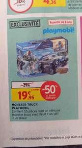 Jeu de construction Playmobil Monster Truck 70550 - 55 pièces