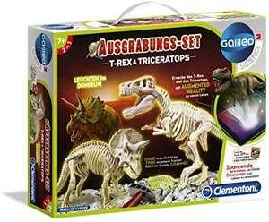 Kit d'archéologie pour enfants Clementoni T-Rex vs. Triceratops (55054)