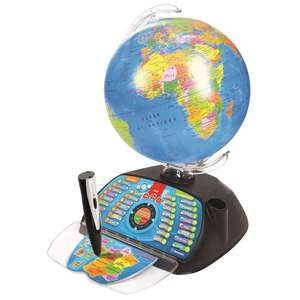 Globe terrestre intertactif Clementoni ExploraGlobe Connect - 3 niveaux (via 39.95€ sur la carte de fidélité)