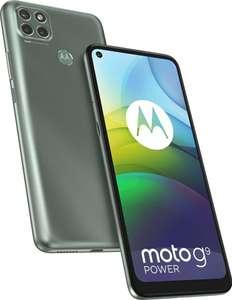 "Smartphone 6.78"" Motorola Moto G9 Power - HD+, SnapDragon 662, 4 Go de RAM, 128 Go, coloris Metallic Sage"