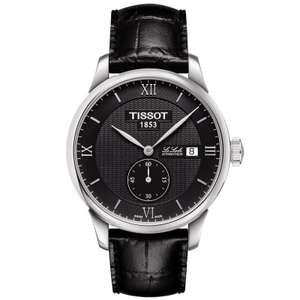 Montre automatique Tissot T Classic Le Locle Petite-Seconde - noir (frais de douanes et port inclus)