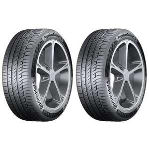 Jusqu'à 80€ en ticket E.Leclerc sur les pneus Continental - Ex : Lot de 2 Pneus PremiumContact 6 - 225/40 R18 92W (Via 40€ sur la carte)