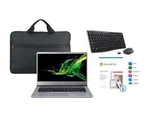 "PC Portable 14"" Acer Swift 3 SF314-41 (FHD, Ryzen 5 3500U, Vega 8, RAM 8 Go, 512 Go SSD, Win. 10) + Office 1 an + clavier/souris + Sacoche"