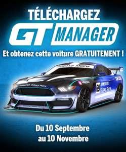 Contenu numérique : Ford Mustang offerte en téléchargeant l'application GT Manager sur le Galaxy store (Dématérialisé)