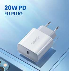 Chargeur USB Type C Ugreen - 20W (via coupon vendeur)