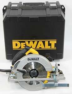 Scie circulaire filaire DeWALT DWE576K-QS - 1600W, Ø190mm + lame 24 dents + coffret