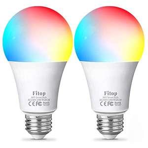 Lot de 2 Ampoules connectées Fitop (vendeur tiers)