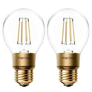 Lot de 2 Ampoules connectées Meross (Vendeur tiers)
