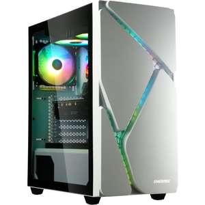 Boitier PC Enermax Marbleshell - Blanc, ARGB
