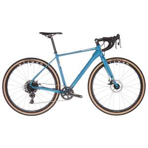 Vélo de Gravel Serious Gravix Sram Apex 40 (2021) - Bleu