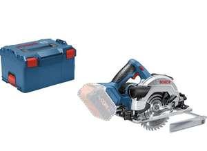 Scie circulaire sans fil Bosch Professional GKS 18V-57 G + coffret L-Boxx (diamètre lame 165 mm, sans batterie / ni chargeur)