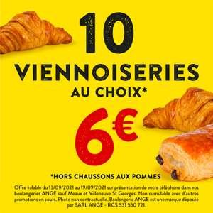 Sélection d'offres promotionnelles - Ex: 10 viennoiseries pour 6€ (sur présentation de la publication)