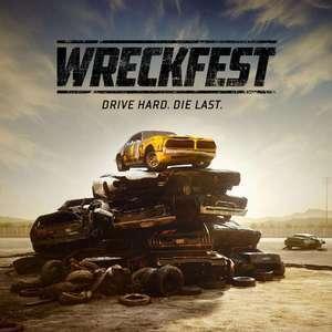Wreckfest sur PS4 (dématérialisé)