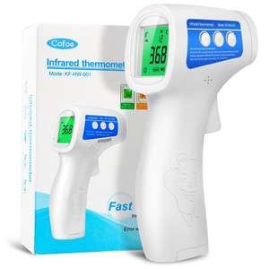 Thermomètre infrarouge sans contact Cofoe (Version anglaise)