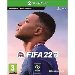[Pré-commande] FIFA 22 sur PS4 ou Xbox One (via 10€ en Tickets Leclerc)