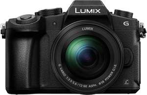 Appareil photo hybride Panasonic Lumix G80M + Objectif Lumix 12-60mm