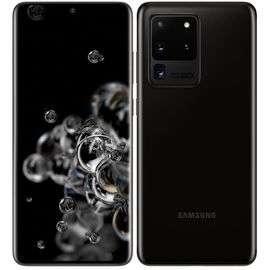 "Smartphone 6.9"" Samsung Galaxy S20 Ultra 5G - Double SIM, 128 Go, Noir cosmique, version US (+17,38€ en RP)"