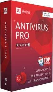 Licence Logiciel Avira Antivirus Pro pour Windows pendant 1 An (Dématérialisé)