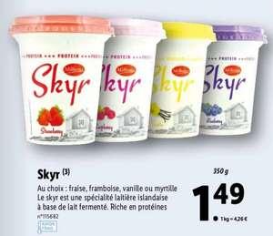 Yaourt Skyr - différents parfums, 350 g