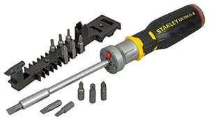 Tournevis porte-embouts à cliquet Stanley FMHT0-62689 - avec LED, 12 embouts