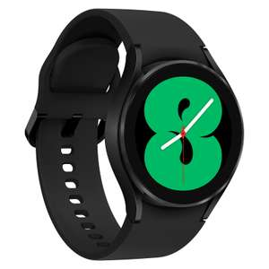 Montre connectée Samsung Galaxy Watch 4 - 40 mm, Noir (199.99€ avec APP15 via l'Application + 6€ en Rakuten Points)