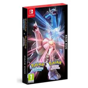 [Pré-commande] Pack Duo Pokémon Diamant Étincelant + Perle Scintillante sur Nintendo Switch (+ 10€ offerts en bon d'achat)