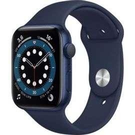 Montre connectée Apple Watch Series 6 (GPS) - Boitier 44 mm, Bleu (+10.38€ en Rakuten Points)