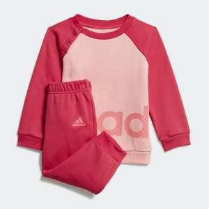 Survêtement Fille Adidas Sportswear Linear Fleece (10.50€ via code en description)