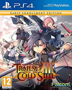 The Legend of Heroes: Trails of Cold Steel III - Édition Early Enrollment sur PS4 (vendeur tiers)