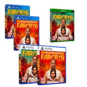 [Pré-commande] Far Cry 6 sur PS4, PS5, Xbox One & Xbox Series S/X (+ 10€ en bon d'achat à valoir sur le rayon Jeux Vidéo)