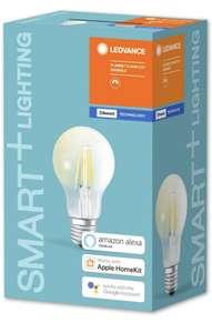 Ampoule LED Ledvance Smart+ - E27, 5W, Blanc chaud, compatible Alexa, Google & HomeKit