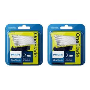 Lot de 4 lames Philips OneBlade QP220/55