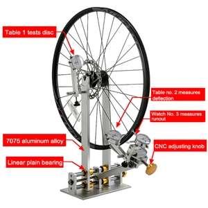 Pied de dévoilage - Pied de centrage roue vélo