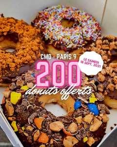 Un donut offert aux 200 premiers - C'est mon donuts Paris (75)