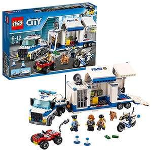 Jeu de construction Lego City - Le poste de commandement mobile n°60139 (via coupon)