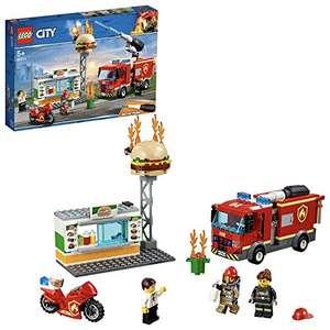 Jeu de construction Lego City - L'intervention des pompiers 60214 (via coupon)