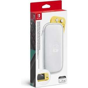 Pochette de transport et protection d'écran pour Nintendo Switch Lite