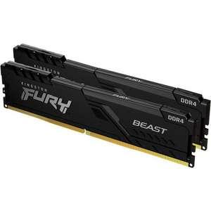 Mémoire RAM DDR4 Kingston Fury Beast - 16 Go (2 x 8 Go) 2666 MHz, CAS 16