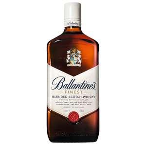 Scotch Whisky Finest Ballantines - 40%, 1L (Via 7.23€ sur Carte Fidélité)