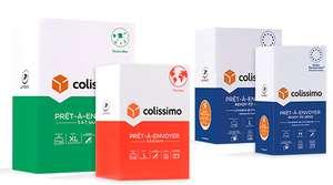 20% de réduction dès 2 emballages Colissimo Prêt-à-Envoyer identiques achetés