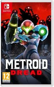 [Pré-commande] Metroid Dread sur Switch (+ 10€ en bon d'achat à valoir sur le rayon Jeux Vidéo)