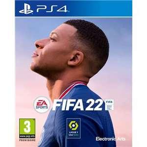 [Précommande] Fifa 22 sur PS4 ou Xbox One + Guide (+10€ sur le compte fidélité pour les adhérents)