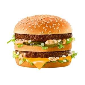 Big Mac à 2€ (sélection de restaurants participants McDonald's en Ile-de-France)